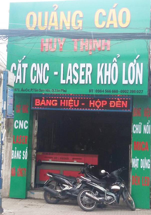 Cắt laser tại Tân Phú